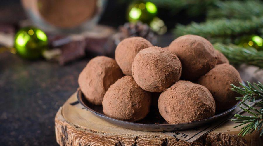 Julgodis för hjärnan: Chokladtryffel med MCT-olja (raw och vegan)