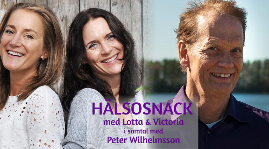 Podcast Hälsosnack: Peter Wilhelmsson om D-Vitamin och mat som medicin
