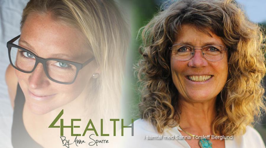Podcast 4Health: Sanna Törsleff Berglund – Hormonella obalanser