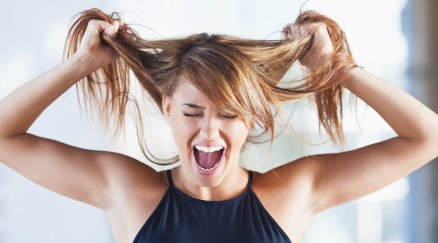 Hårmineralmönster och stress