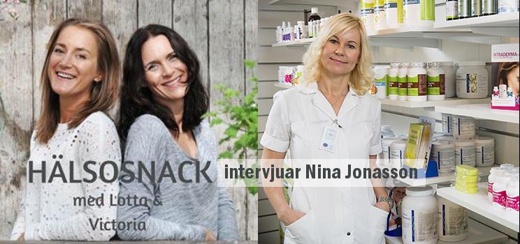 Podcast Hälsosnack: Nina Jonasson – Hudexpertens bästa anti ageing tips