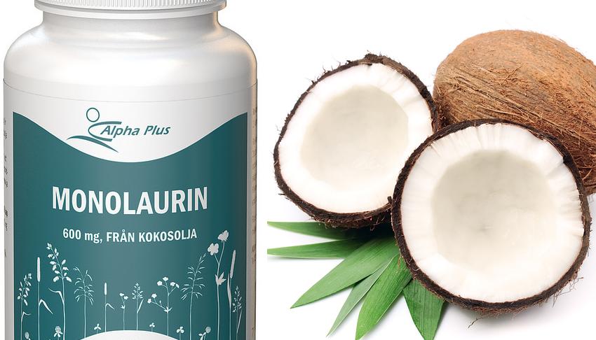 Koko på kokos? Därför är monolaurin en hjälp mot infektioner