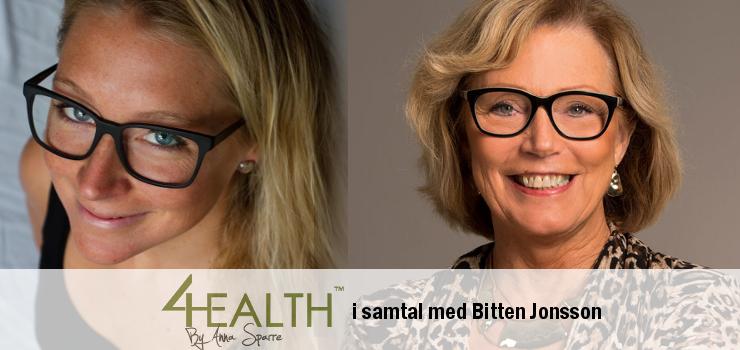 Podcast 4Health: Bitten Jonsson om sockerberoende och hjärnans biokemi del 2