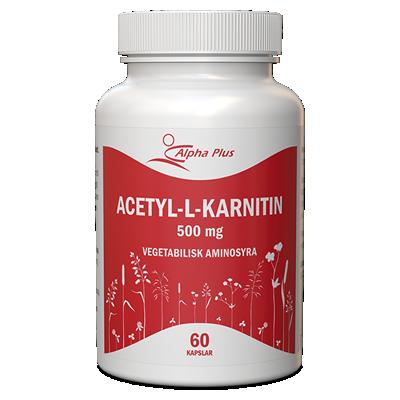 Acetyl-L-karnitin 60 kap burk