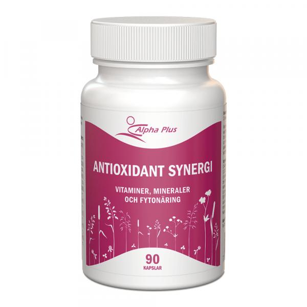 Antioxidant Synergi 90 kap burk