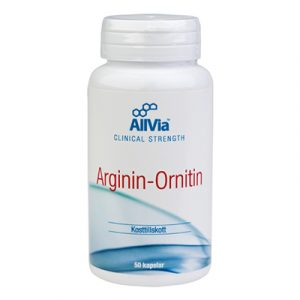 Arginin-Ornitin 50 kap L-arginin Och L-ornitin burk