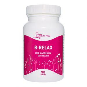 B-Relax 90 kap Med Magnesium Och Teanin burk