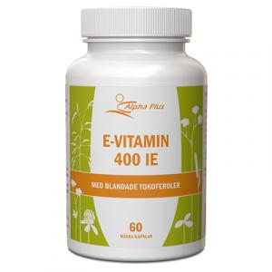 E-vitamin 400 IE 60 kap Med Blandade Tokoferoler burk