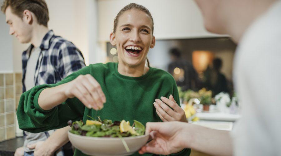 God hälsa startar och bibehålls i magen