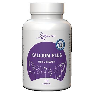 Kalcium Plus 90 tab Med D-vitamin burk