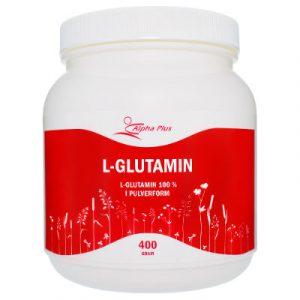 L-glutamin 400 g burk