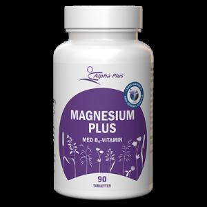 Magnesium Plus 90 tab Med B6-vitamin burk