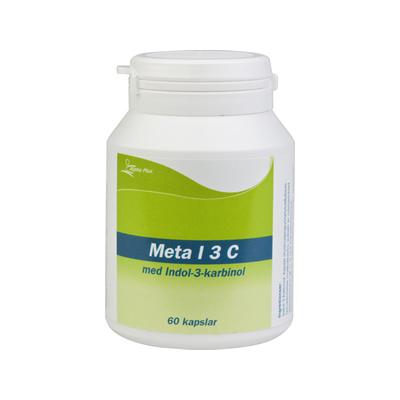 Meta I 3 C 60 kap Med Indol-3-karbinol burk