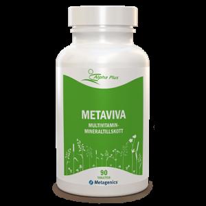 MetaViva 90 tab Multivitamin Mineraltillskott burk