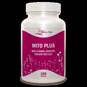 Mito Plus 180 kap Med D-Ribos, Karnitin, Kreatin Och Q10 burk