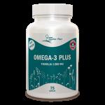 Omega-3 Plus 75 kap Fiskolja 1200 mg burk