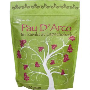 Pau D´Arco te 100 g Torkad Innebark Från Lapachoträdet tepåsar