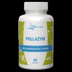 PollaZym 60 kapslar Med Quercetin Och C-vitamin burk