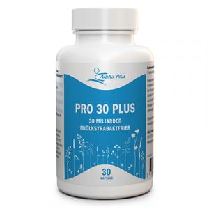 Pro 30 Plus 30 kap Mjölksyrabakterier burk