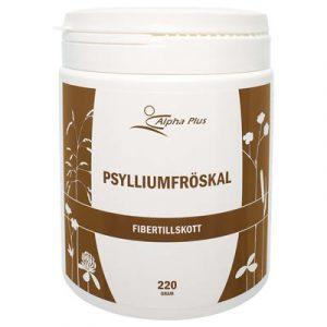 Psylliumfröskal 220 g Fibertillskott burk