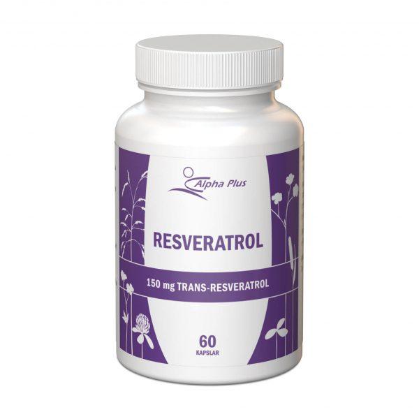 Resveratrol 60 kap burk