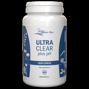UltraClear Plus pH Vaniljsmak 966 g burk