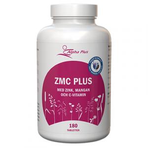 ZMC Plus 180 tab Med Zink, Mangan Och C-vitamin burk