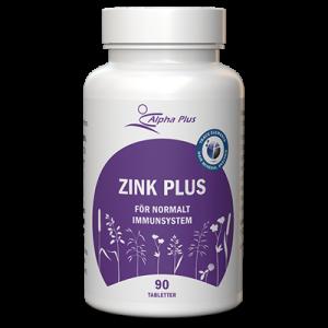 Zink Plus 90 tab För Ett Normalt Immunsystem burk