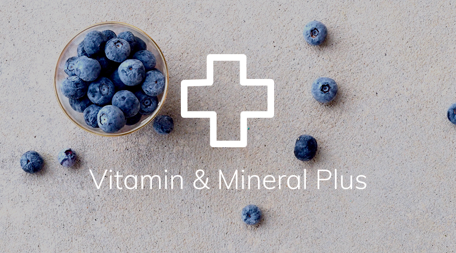 Vitamin & Mineral Plus test