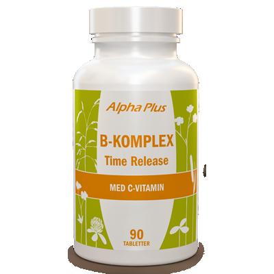 B-komplex Time Release 90 tab burk