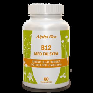 B12-vitamin med Folsyra 60 tab burk