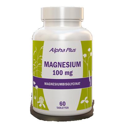 Magnesium 100 mg 60 tab burk