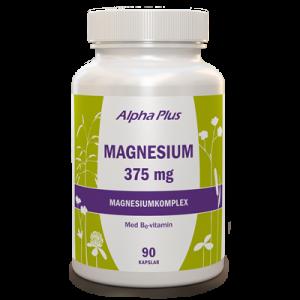 Magnesium 375 mg 90 kap Magnesiumkomplex burk