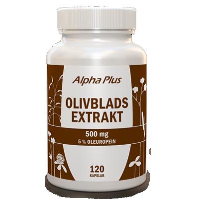 Olivbladsextrakt 120 kap
