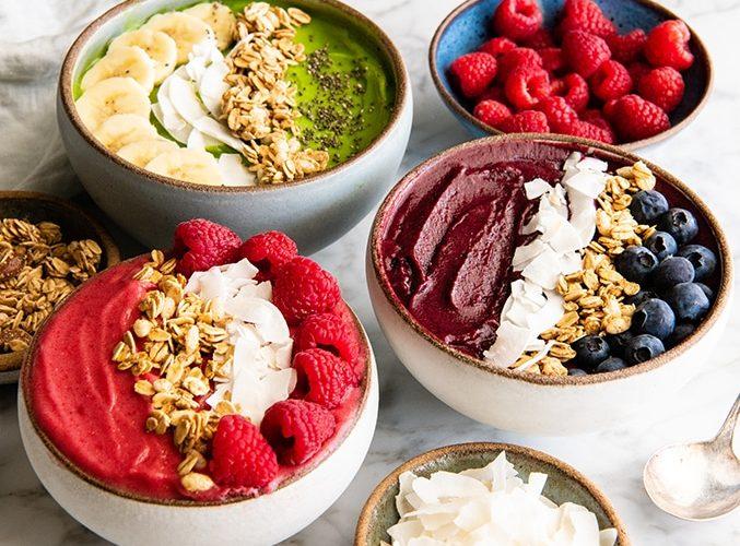 3 supergoda recept på smoothiebowls